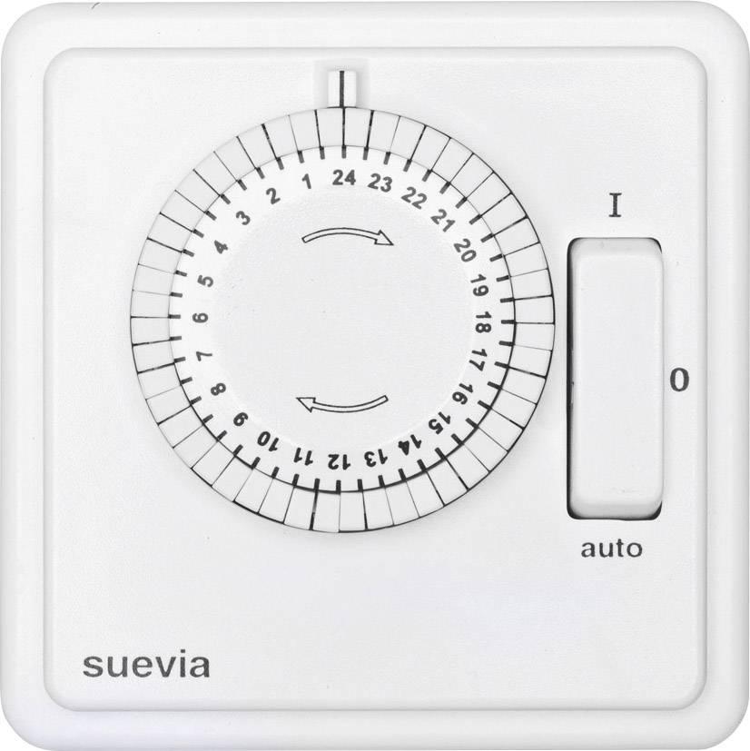Spínací hodiny pod omítku Suevia, 248.024.9.084, 2200 W, IP20, analogová, denní