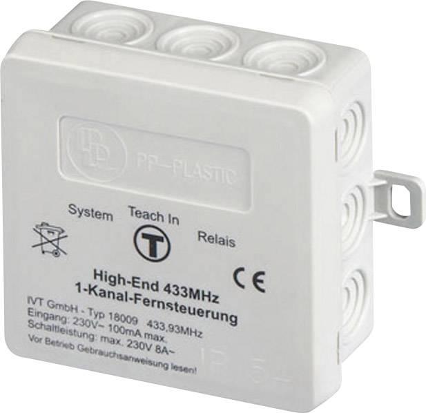 High-End 1-kanálové rádiové diaľkové ovládanie HomeStar - prijímač