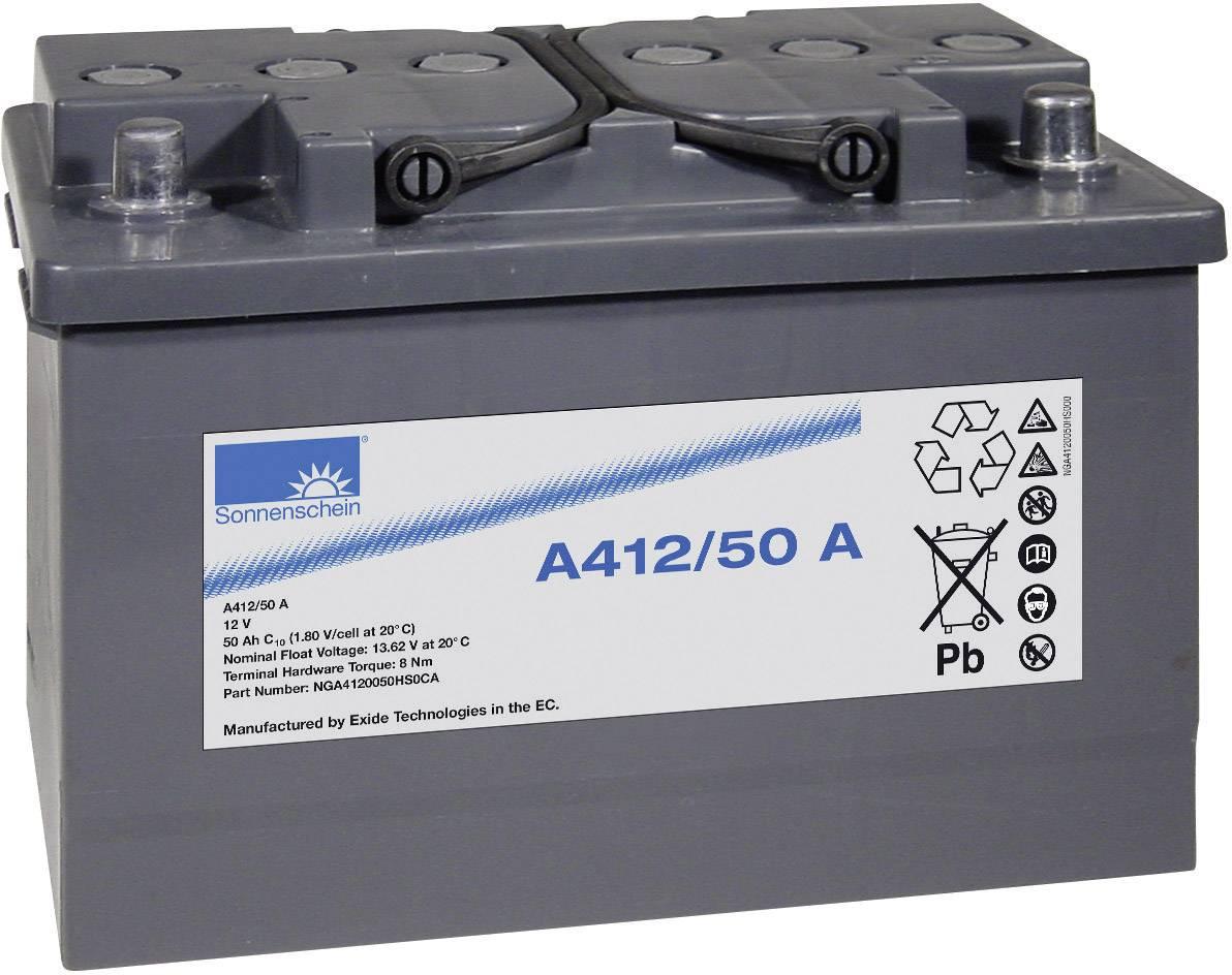 Olověný akumulátor GNB Sonnenschein A412/50 A NGA4120050HS0CA, 50 Ah, 12 V