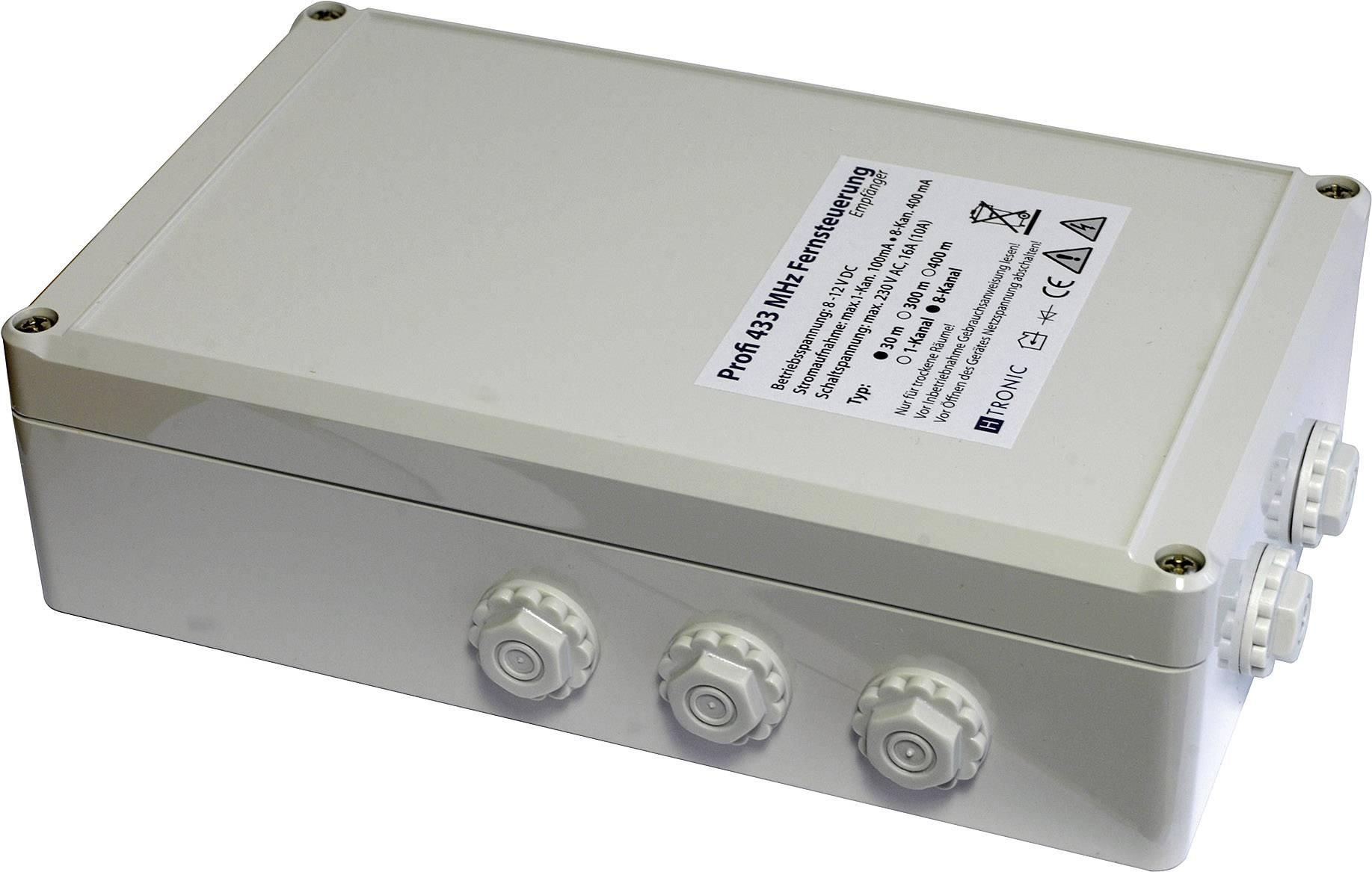 Prijímač 8-kanálový H-Tronic (30 m) - hotový výrobok