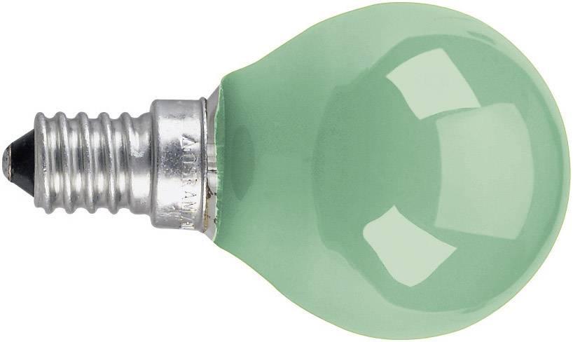 Žiarovka OSRAM 4008321545800, E14, 230 V, 11 W, zelená, 1 ks