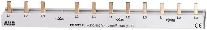 Propojovací lišta PS3/12 třífázová ABB