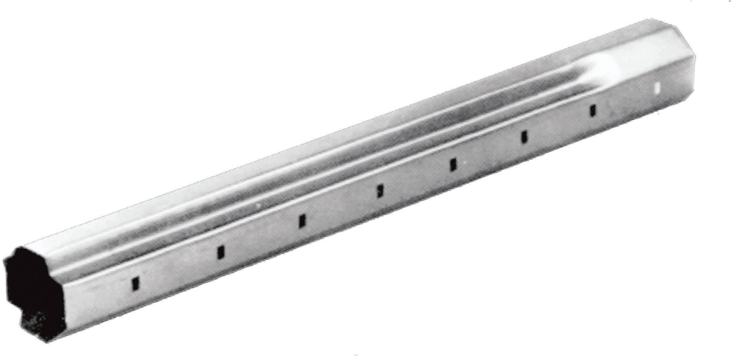 Osmihranná ocelová roletová hřídel SW60