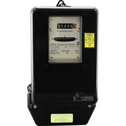 Analogový elektroměr AEG 10/40 A, 3fázový, 4vodičový
