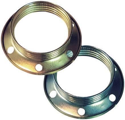 Závitový kroužek E27 0445, sada 2 ks, mosaz