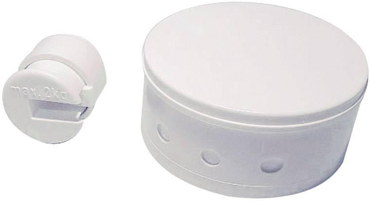 Kulatá krytka svorkovnice GAO, 0621, bílá