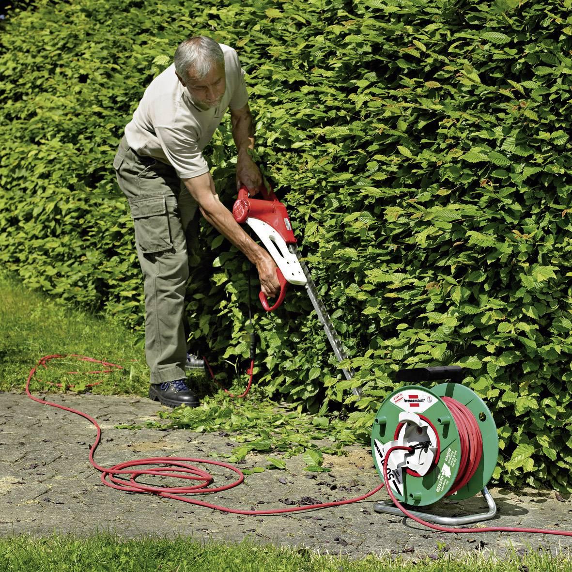 Predlžovačka s káblovým navijakom Brennenstuhl Garant Bretec, 50 m