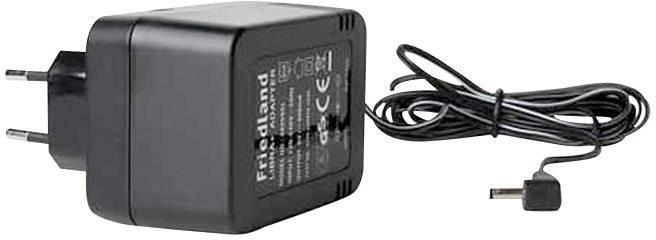 Síťový adaptér pro zvonky Libra+ Friedland, D935, 6 V/600 mA, černá