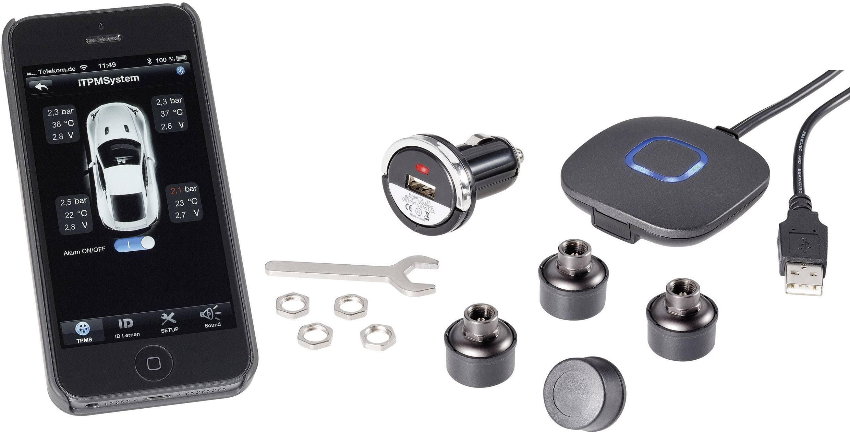 Systémy kontroly tlaku v pneumatikách