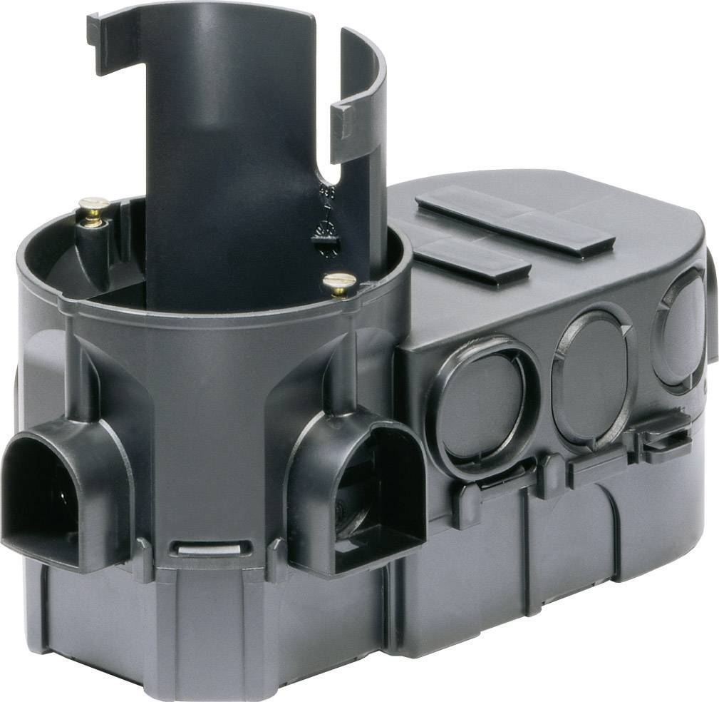 Instalační krabice Kaiser Elektro 1068-02, černá