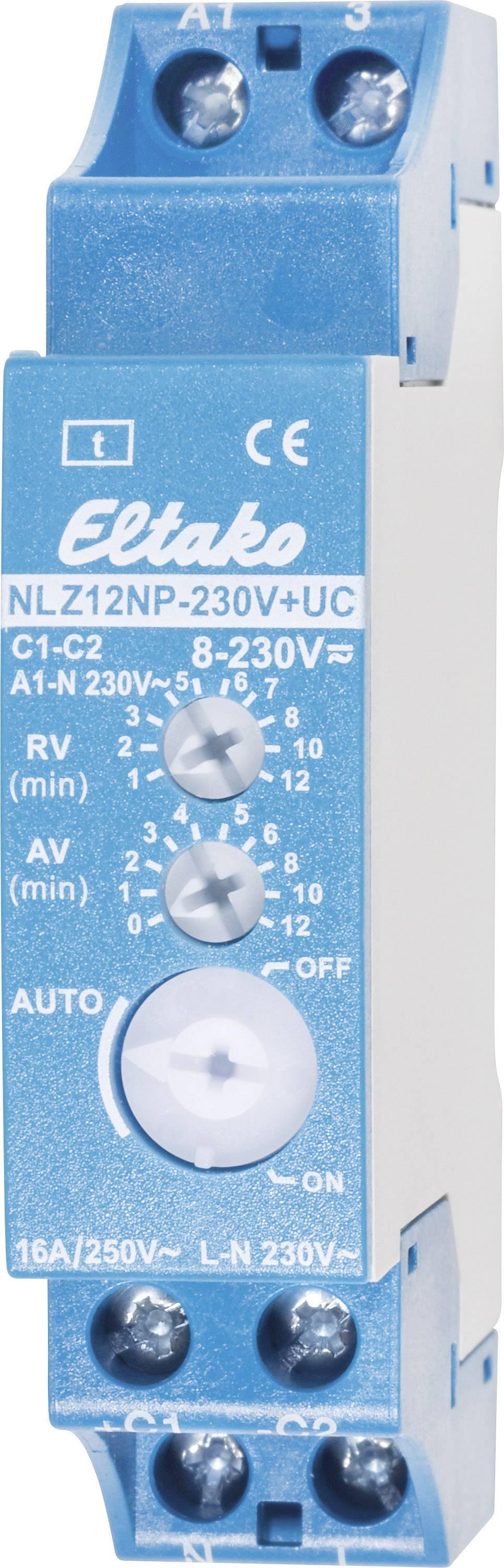 Časový spínač pre ventilátor Eltako na DIN lištu, 16 A, 23100704-1