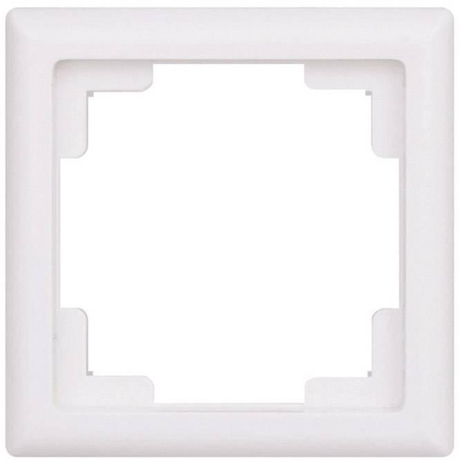 Agora jednoduchý rámeček vypínačový, bílá, 105040