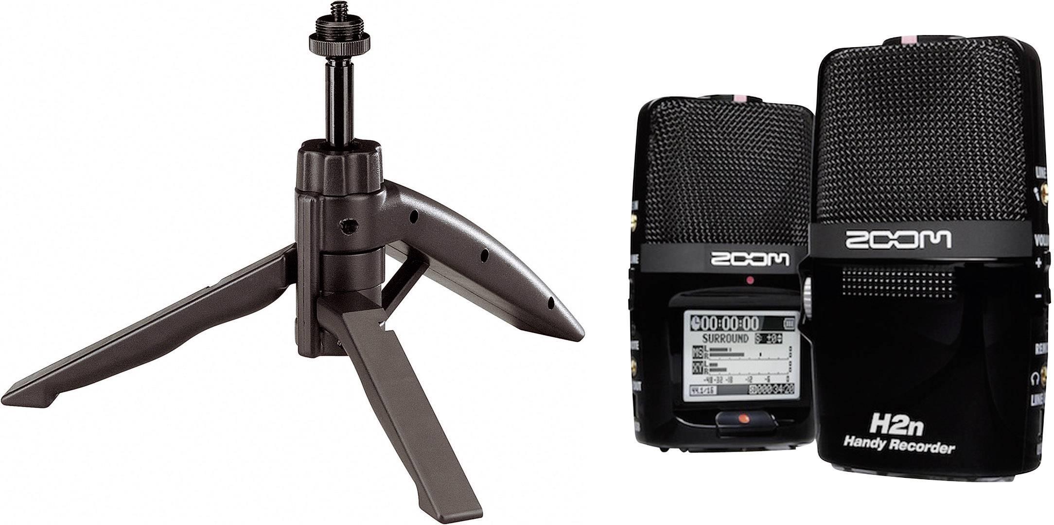 Mobilný audio rekordér Zoom H2n Bundle, čierna