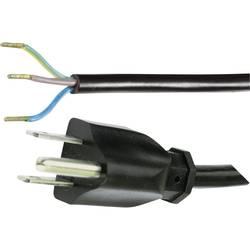 Síťový kabel Hawa, USA zástrčka/otevřený konec, 2 m, 1008246