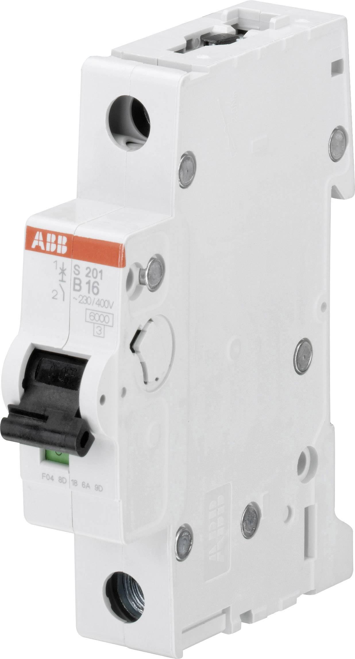 Elektrický istič ABB 2CDS251001R0105, 1-pólový, 10 A