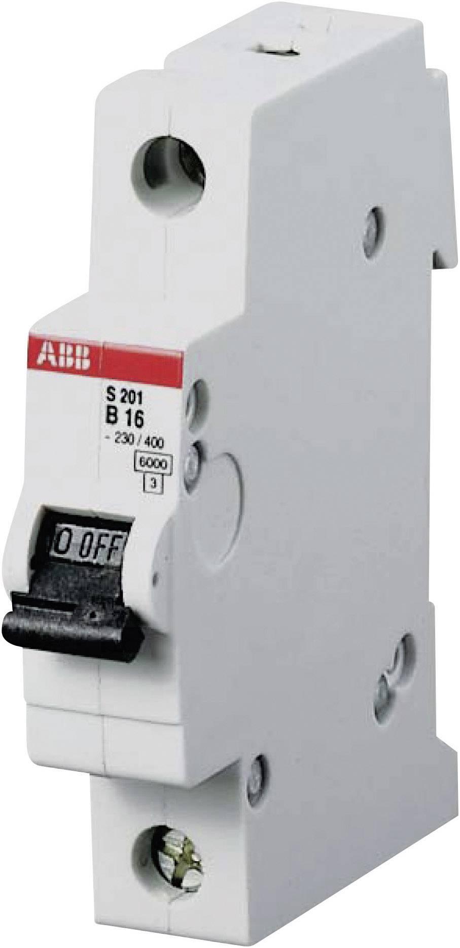 Elektrický istič ABB 2CDS251001R1165, 1-pólový, 16 A