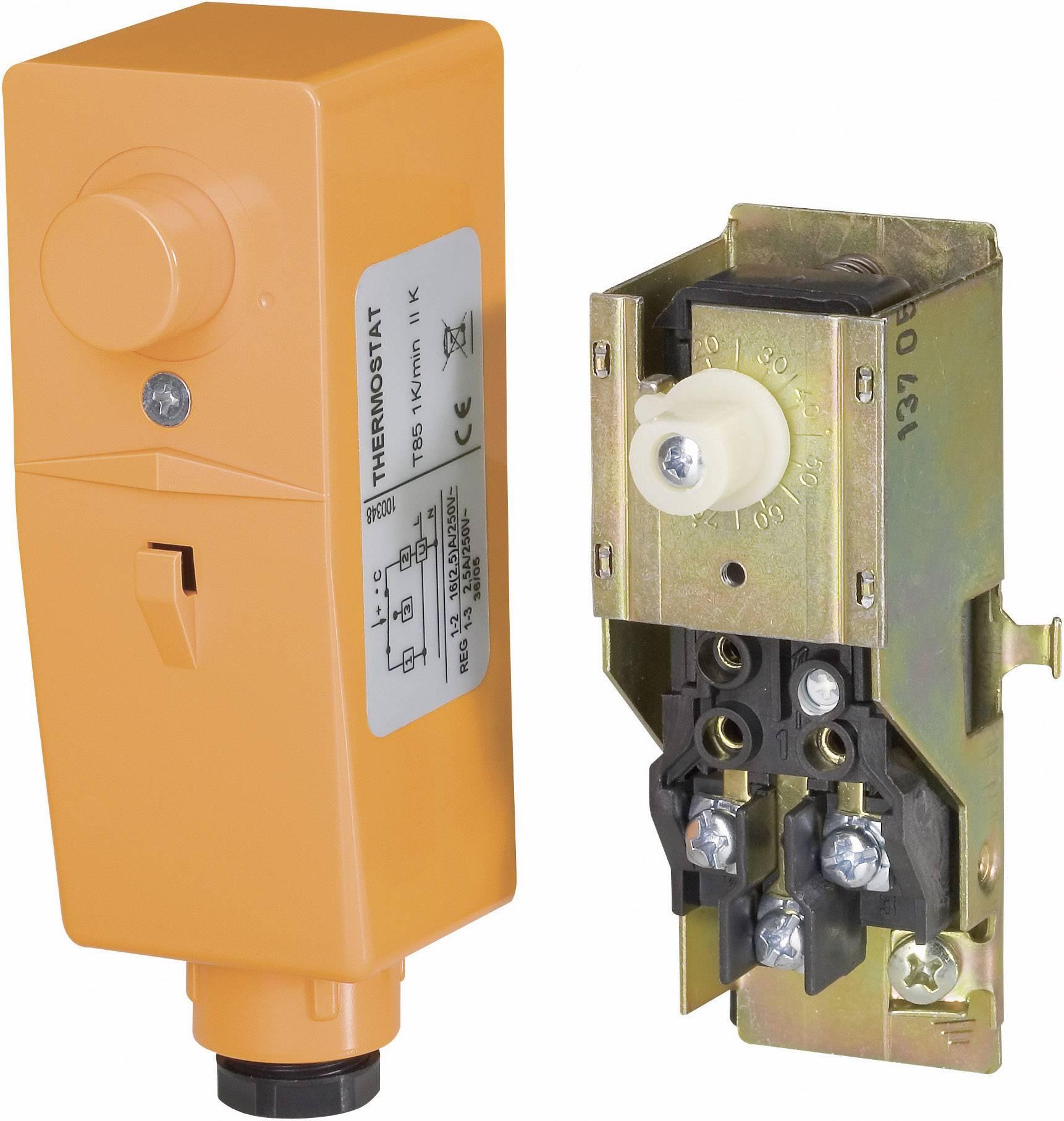 Potrubný termostat príložný bez regul. kolieska BRC 100683, 20 až 90 °C