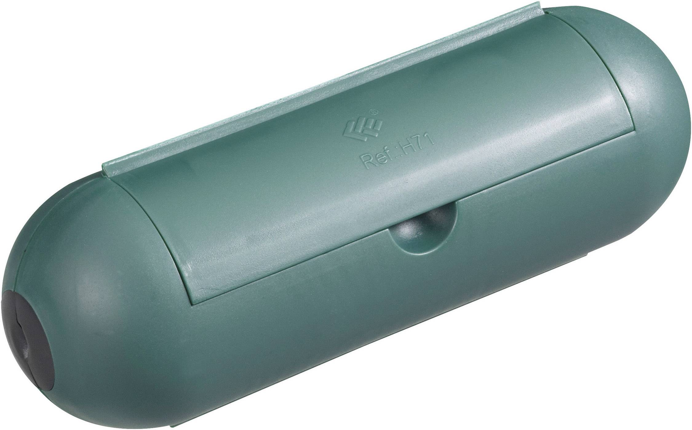 Kryt zásuvky GAO 0392, zelená, 1-násobný
