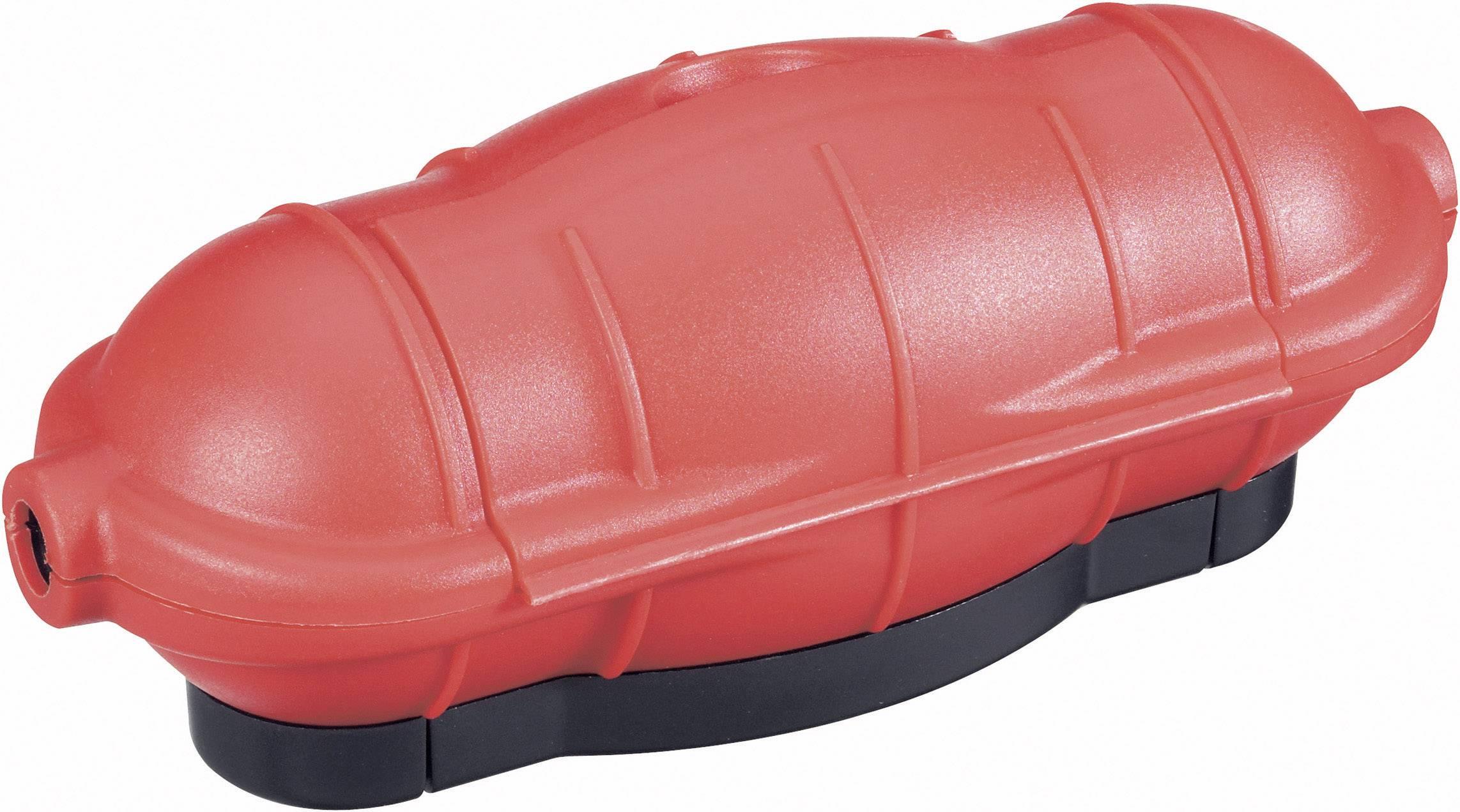 Bezpečnostní kryt na zásuvku GAO 0391, červená