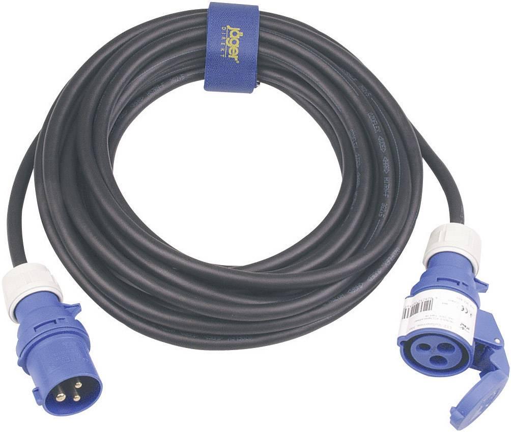 Napájací predlžovací kábel SIROX 361.425, IP44, čierna, 25 m