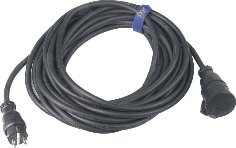 Napájací predlžovací kábel SIROX 346.910, IP44, čierna, 10 m