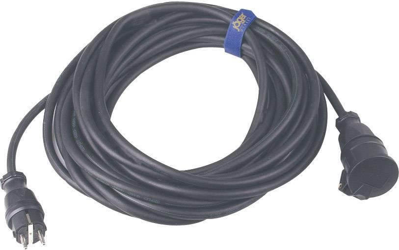 Napájací predlžovací kábel SIROX 346.925, IP44, čierna, 25 m