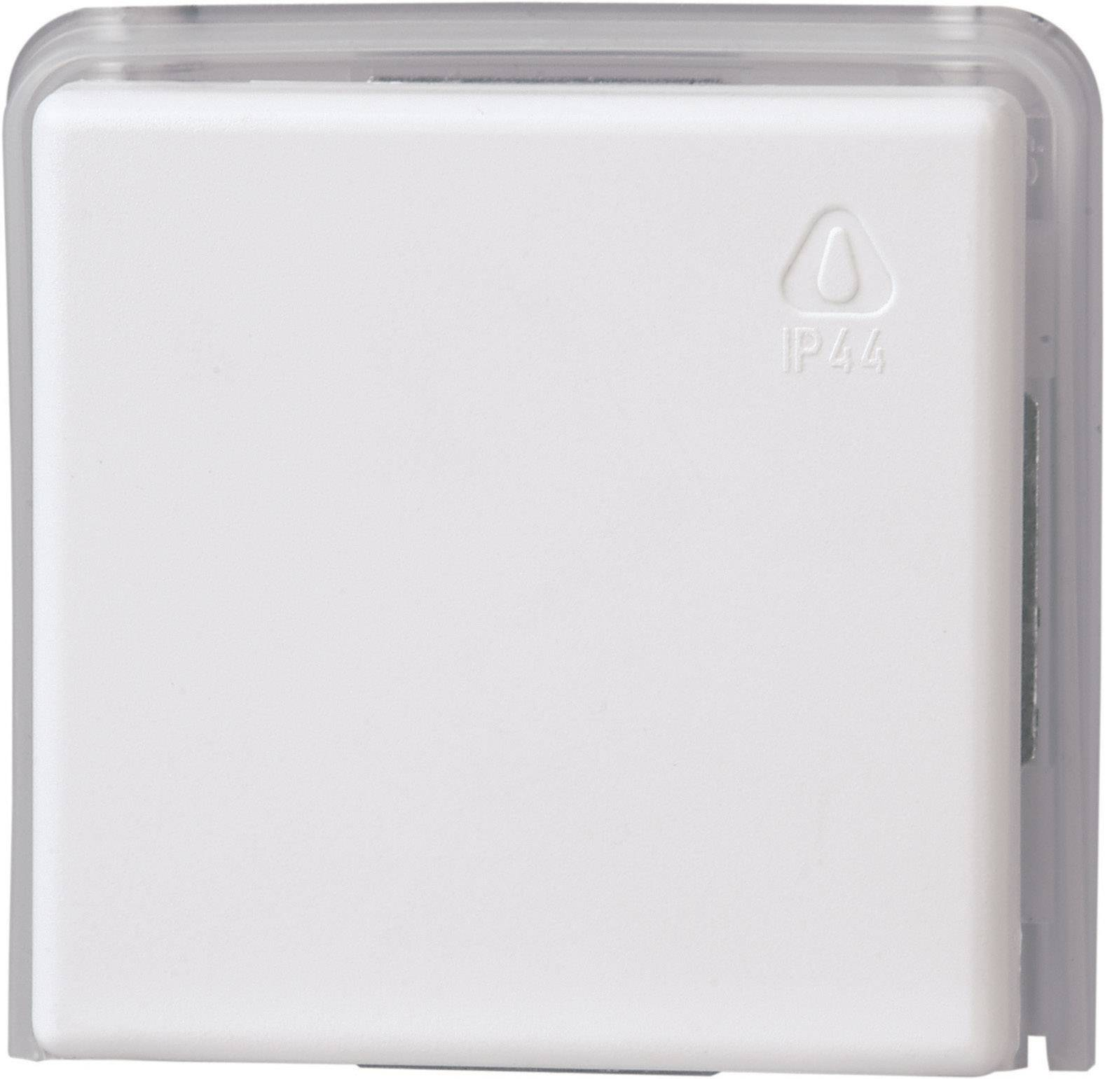 Jednoduchý rámček pre sieťovú zásuvku Arktis 623602081, biela