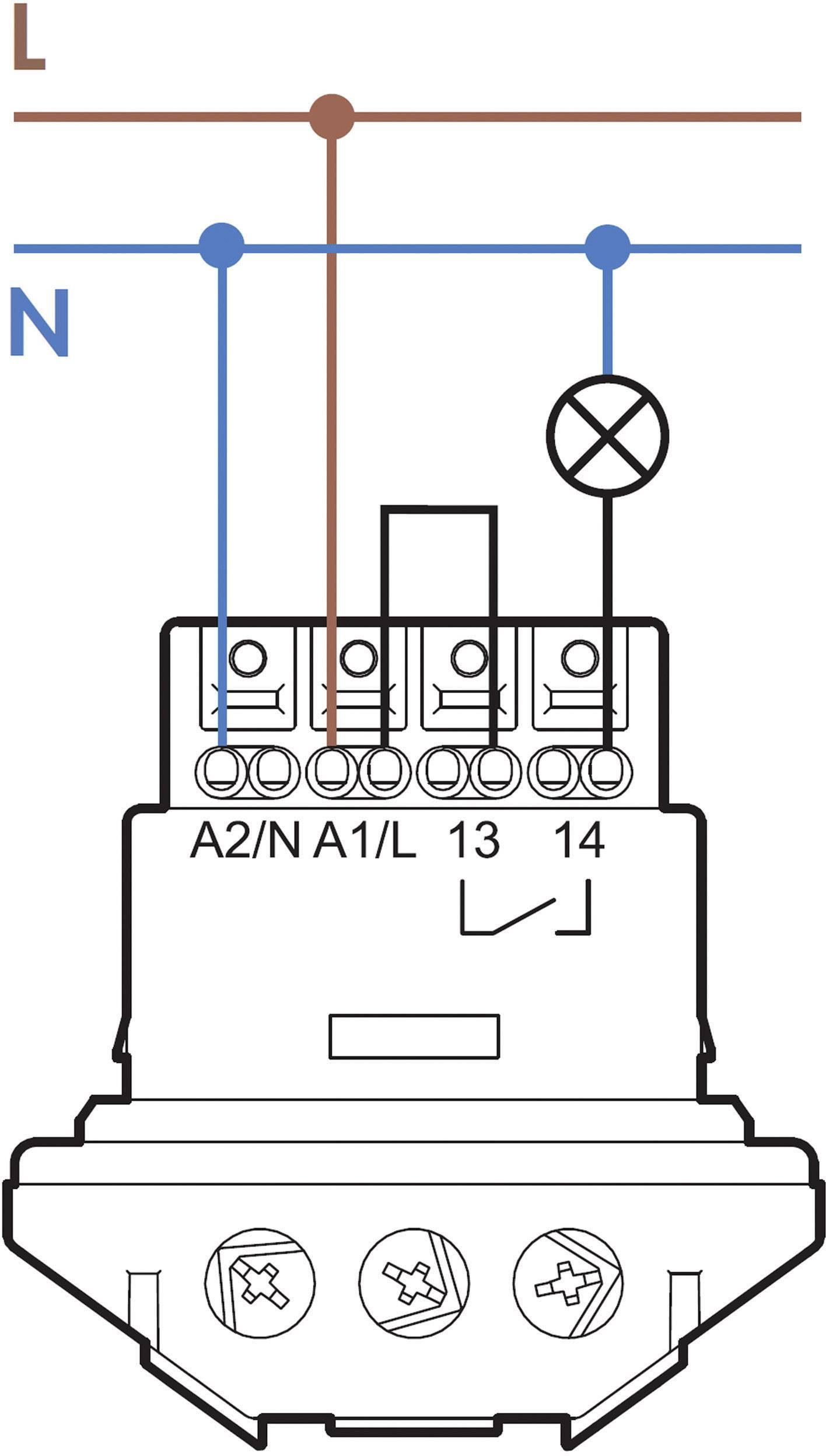 Detektor pohybu Finder 18.61.8.230.0300, 250 V/AC, Max. dosah 9 m