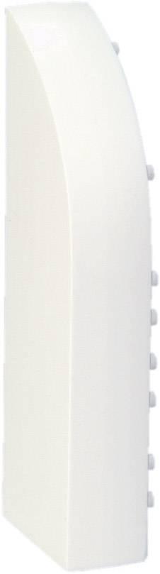 Koncovka levá, pro kabelové lišty, 75084, bílá