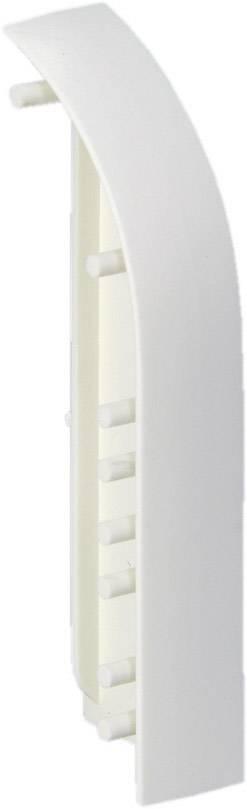 Koncovka pravá, pro kabelové lišty, 75085, bílá