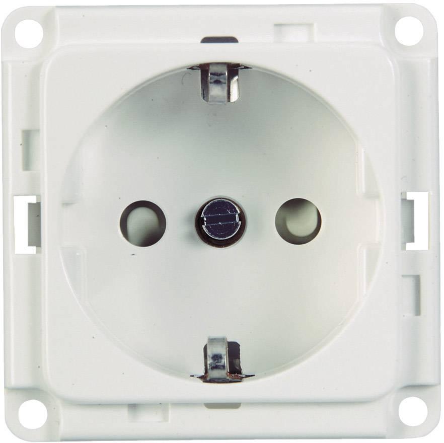 Schuko zásuvka pro zásuvkový díl, bílá (71680)
