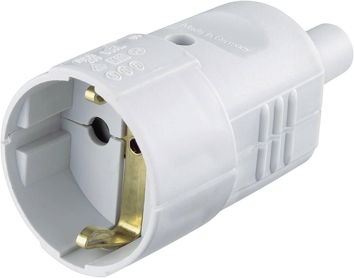 Prepojka SchuKo 624404, PVC, IP20, 230 V, sivá