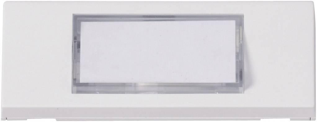 Zvonková deska Heidemann 70049 , 1 tlačítko, podsvítitelná, max. 24 V/1 A, bílá