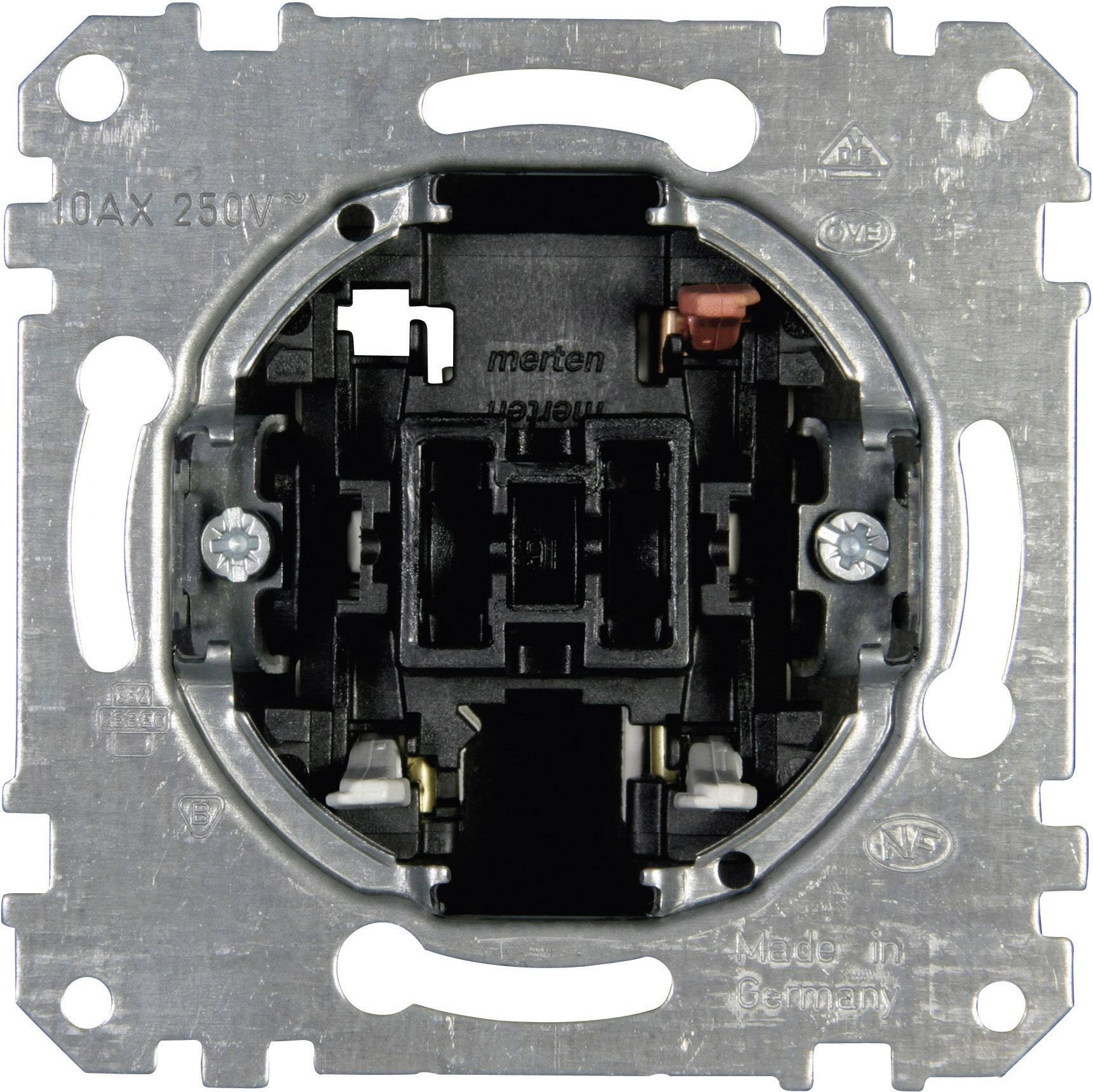 Přepínač 1pólový Merten do krabičky (MEG3116-0000)