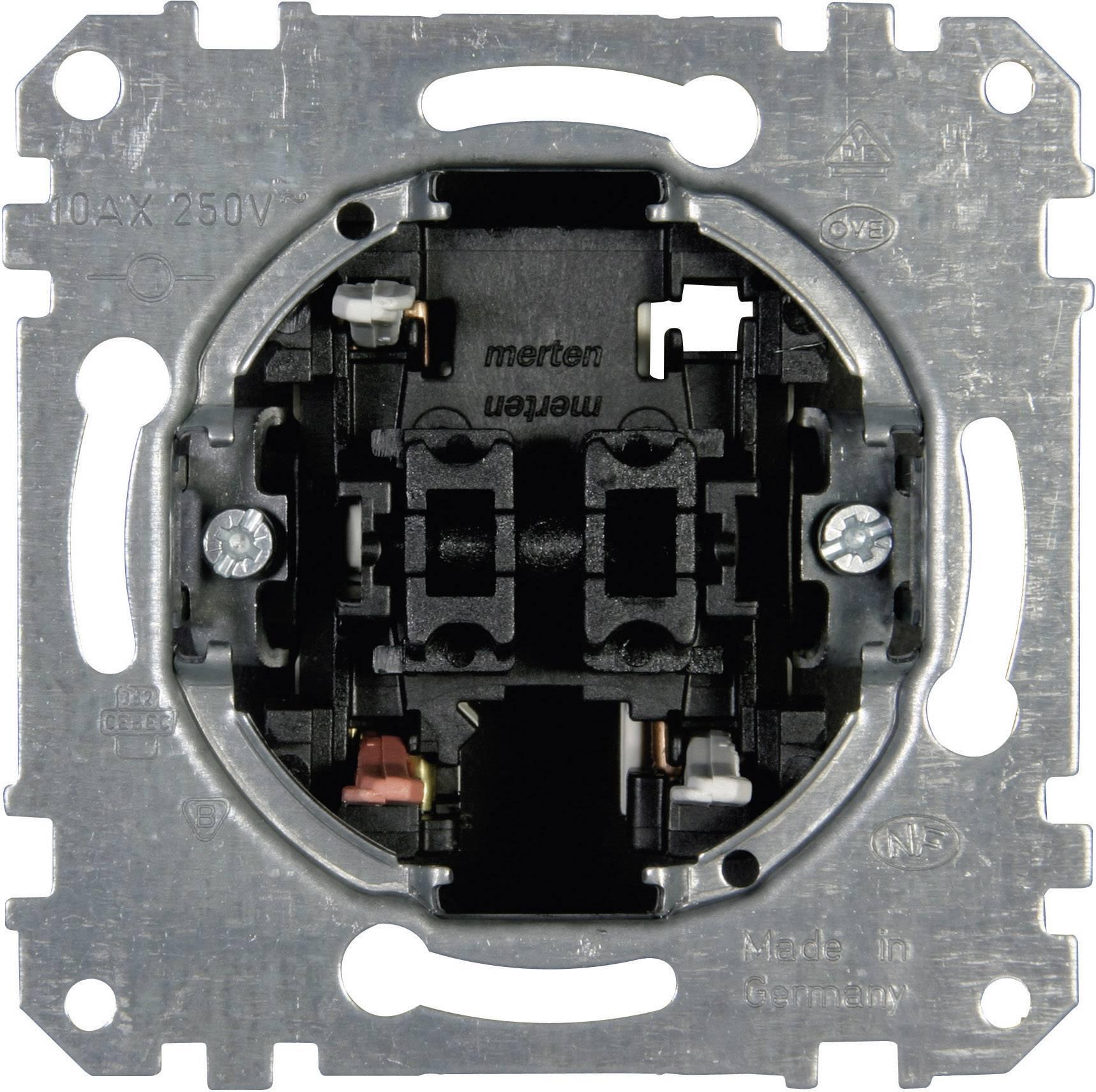 Křížový vypínač do krabičky Merten (MEG3115-0000)