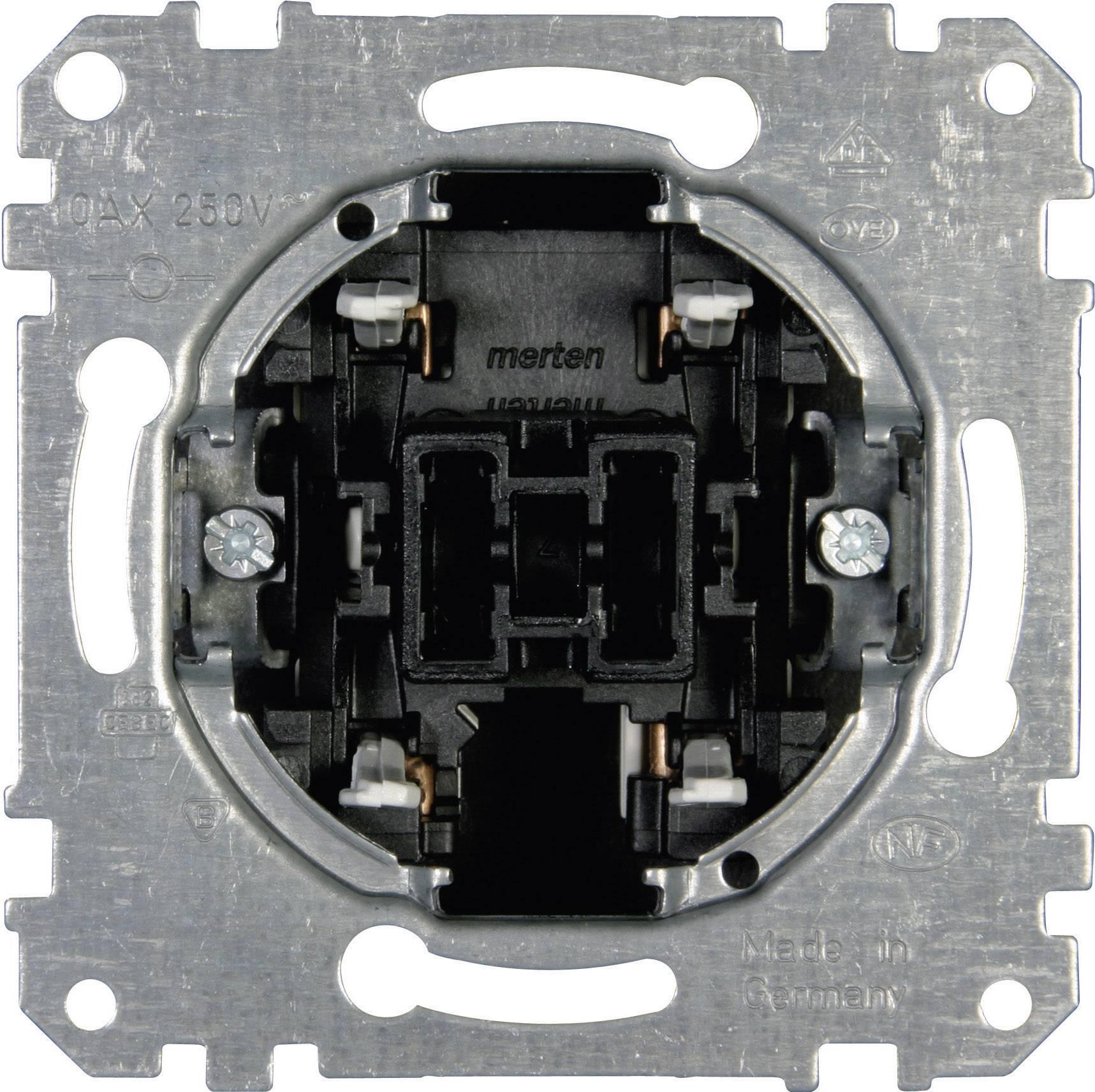 Křížový vypínač do krabičky Merten (MEG3117-0000)
