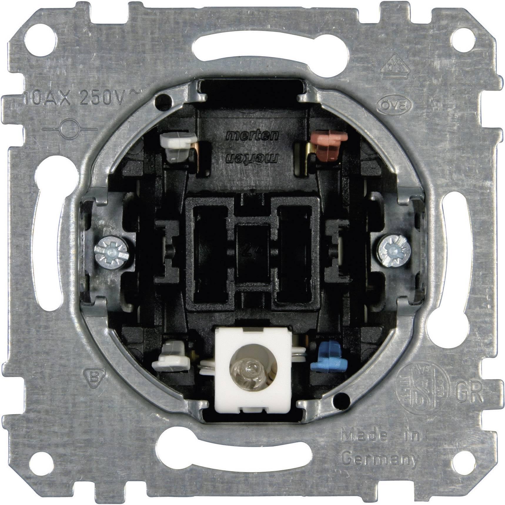 Kombinovaný přepínač do krabičky Merten (MEG3106-0000)