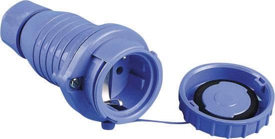Prepojka SchuKo 626002, umelá hmota, IP68, 230 V, modrá