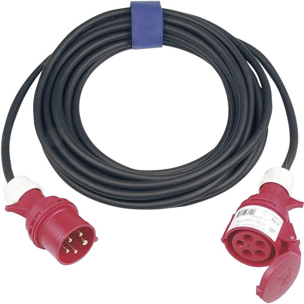 Napájací predlžovací kábel SIROX 363.425, IP44, čierna, 25 m
