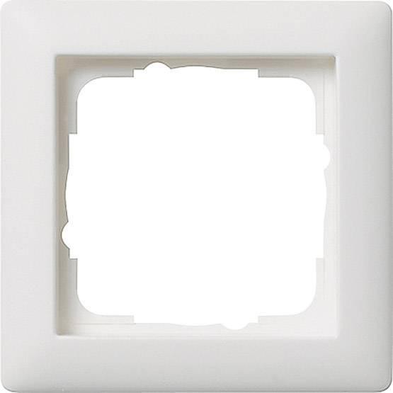 GIRA 1-fack 021104, 1násobné, čistě bílá, matná