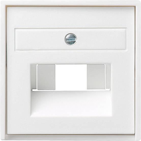 Kryt zásuvky UAE/IAE/ISDN Gira, 027003, lesklá bílá