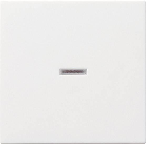 Kontrolný spínač GIRA 029003, biela žiarivá