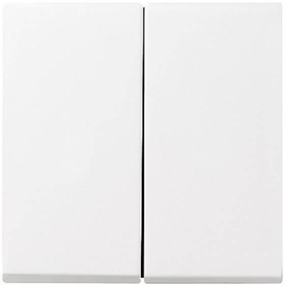 Dvojitý vypínač GIRA 029503, biela žiarivá