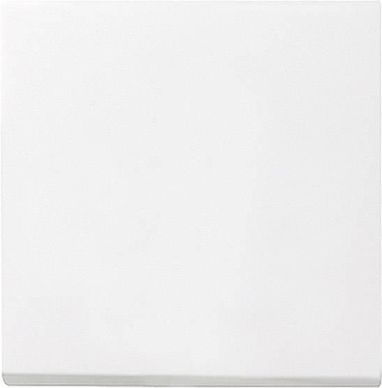 Krytka vypínače Gira, 029603, plast, lesklá bílá