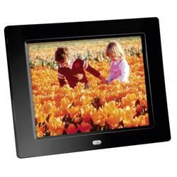 """Digitální fotorámeček 20.3 cm (8 """") Braun Germany DigiFrame 82 1024 x 768 px černá"""