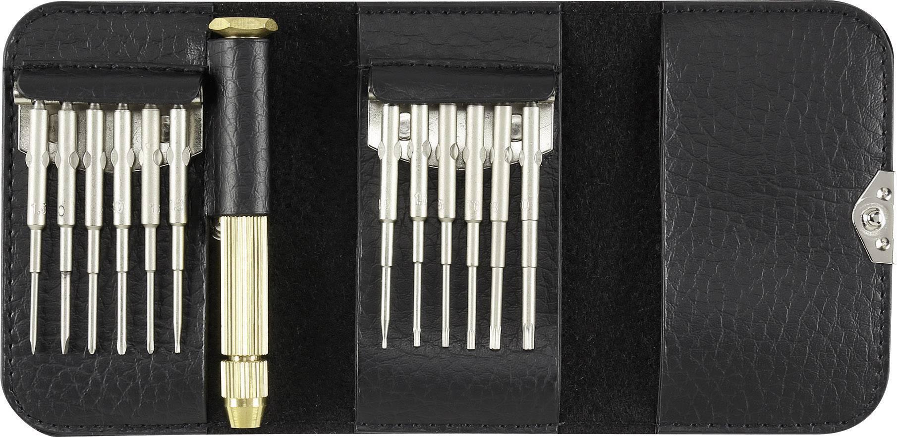 Sada skrutkovačov pre elektroniku a jemnú mechaniku TOOLCRAFT for iPhone 627426, 13-dielna