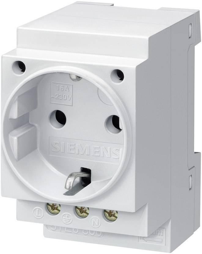 Zásuvka na din lištu bez krytky sivá 16 A 250 V/AC Siemens 5TE6800