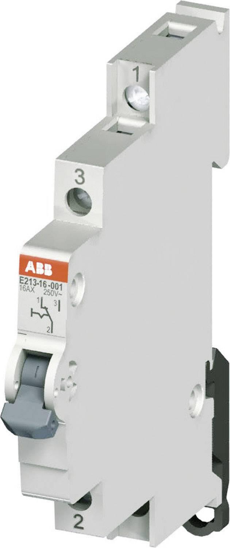 Vypínač na DIN lištu ABB E213 16A-001, 16 A, 250 V, 1 C/O, 2CCA703040R0001