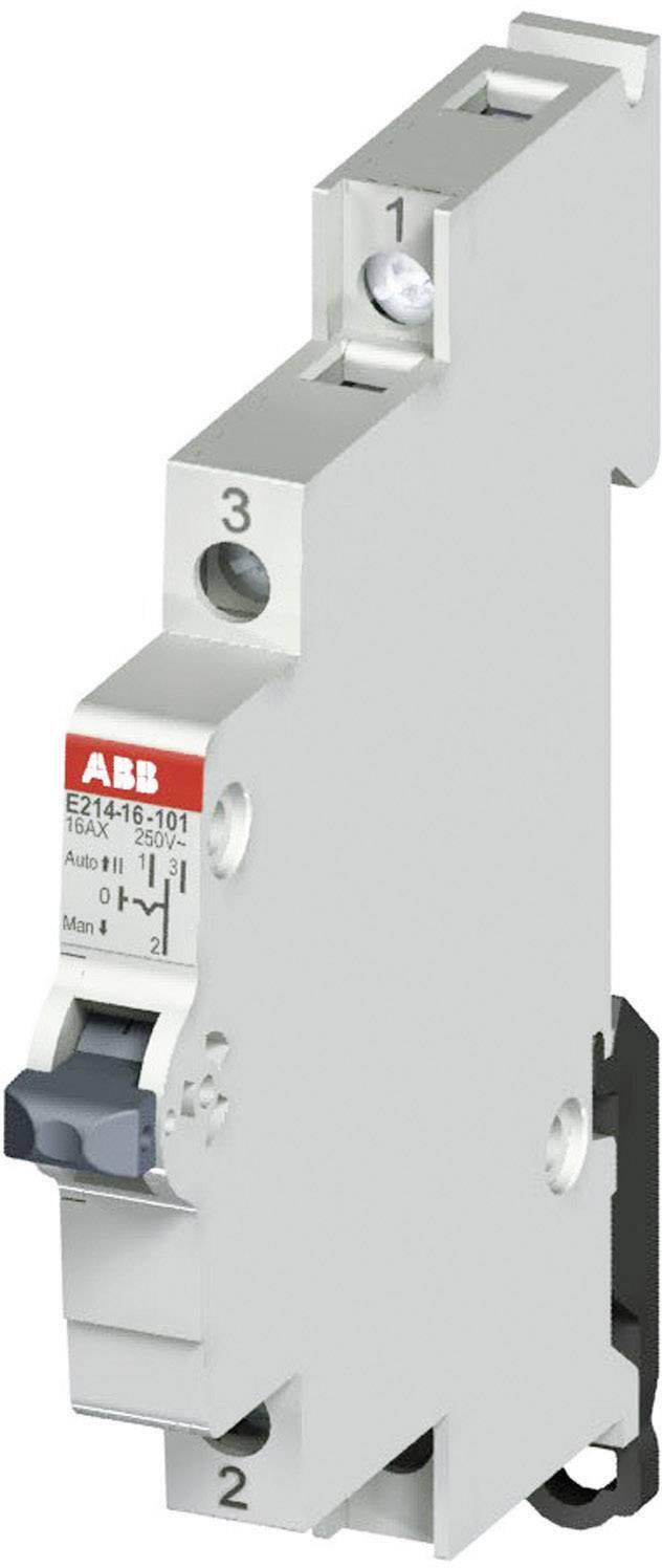 Skupinový prepínač ABB, 16 A, 250 V, 1-pólový, 2CCA703025R0001