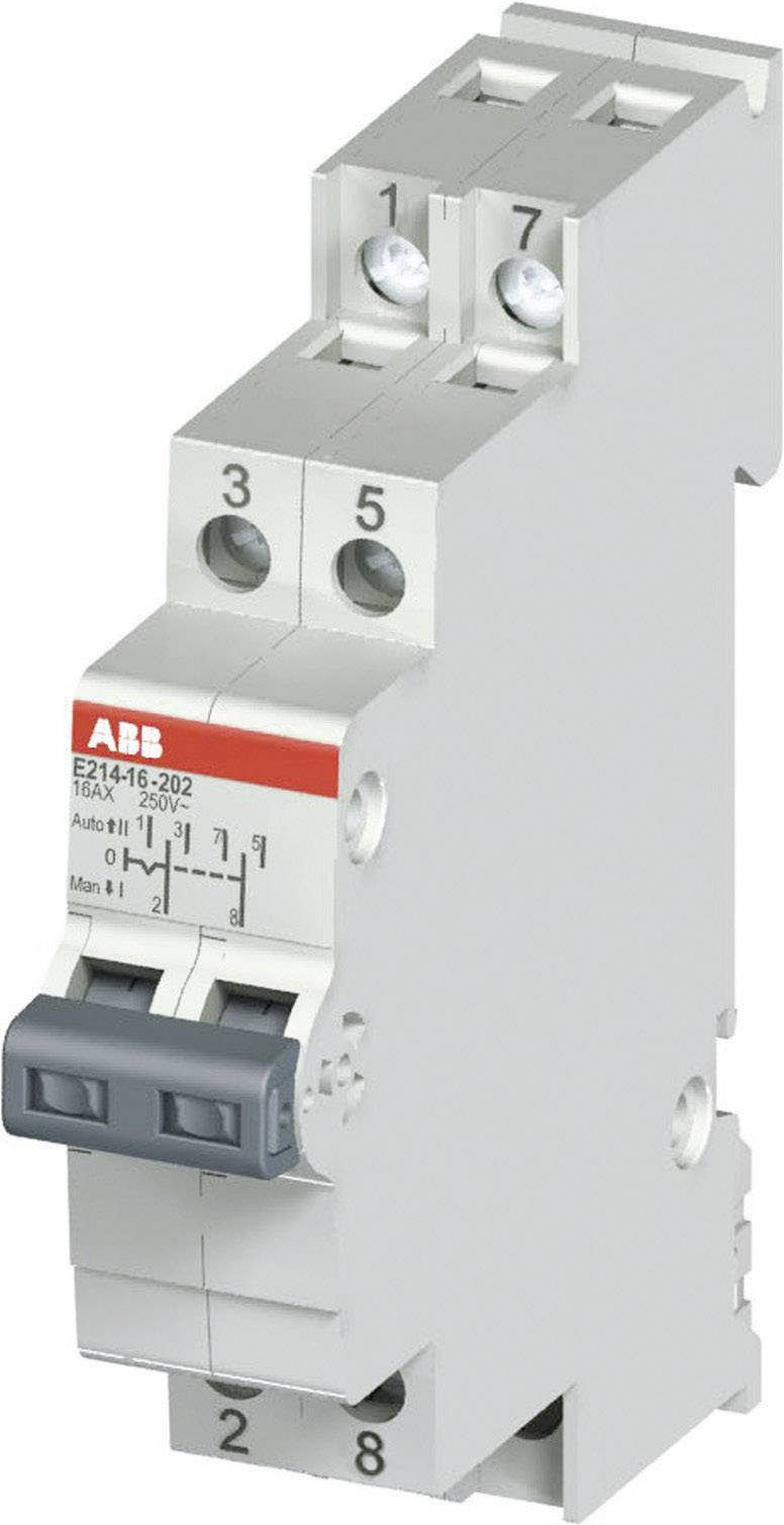 Skupinový prepínač ABB, 16 A, 250 V, 1-pólový, 2CCA703030R0001